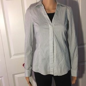 V-Neck Woman's Dress Shirt